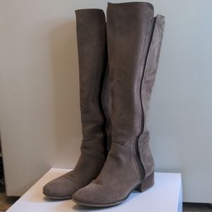 Steve Madden knee high leather boots 6